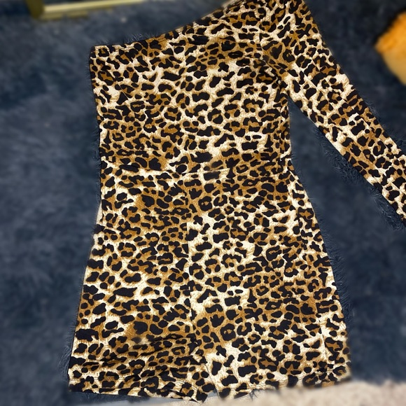 Super Cute Leopard Print Romper for a Night Out!